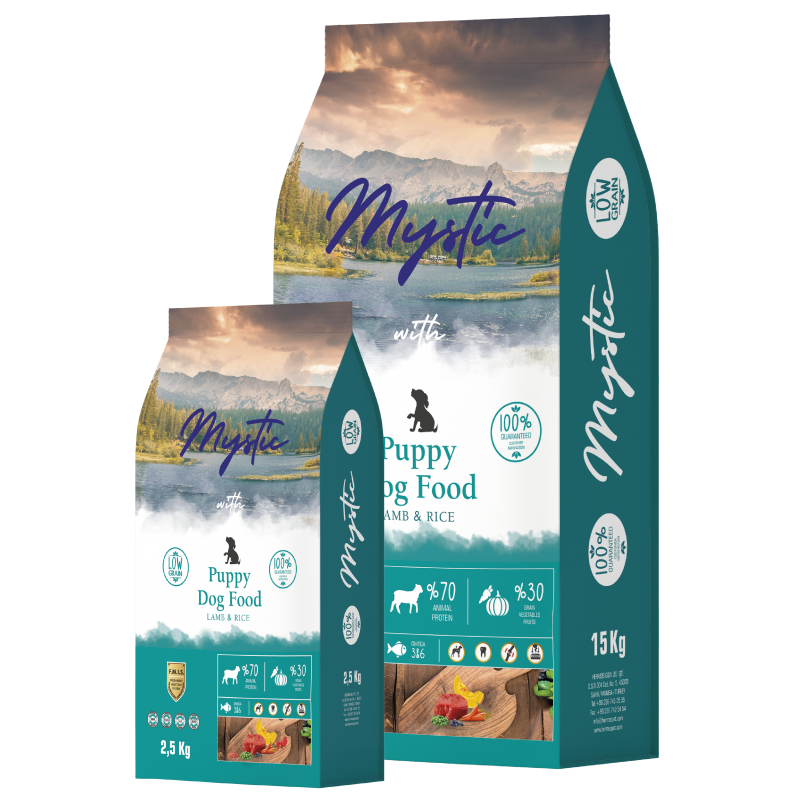 Dog Food With Lamb and Rice